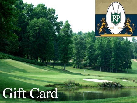 Regent Park Golf Club - Gift cards are perfect for family and friends who are golfers or enjoy upscale dining. Available in any amount, they can be used for golf rounds, merchandise, lessons and at the GRILL for great food, beer and spirits. - 5505 Regent Parkway, Fort Mill, S.C. (Exit 90 off I-77). 803-547-1500 - www.regentparkgolfclub.com - Credit cards accepted