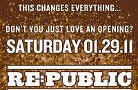 New club Re:Public opens Jan. 29