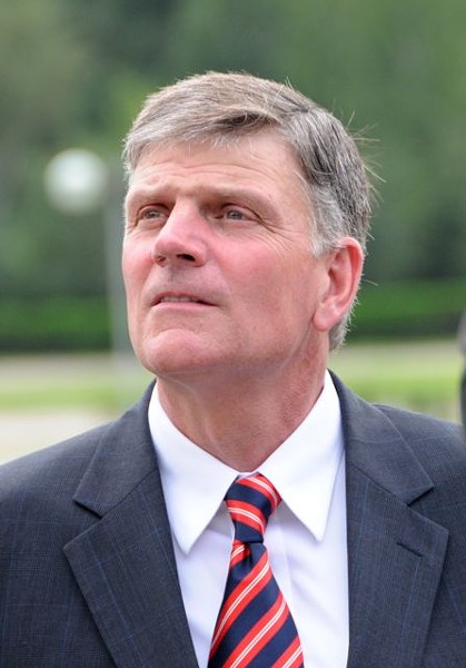 "Rev. Franklin Graham: ""Hey, I smell a Muslim"""