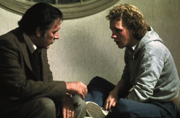 Richard Burton and Peter Firth in Equus (Photo: Twilight Time)