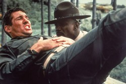 PARAMOUNT - Richard Gere and Louis Gossett Jr. in An Officer and a Gentleman