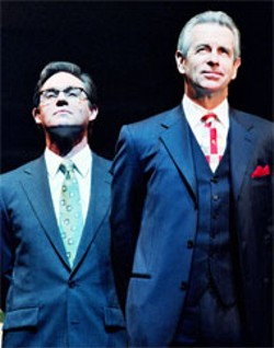 DON PERDUE - Richard Thomas and James Naughton in Democracy