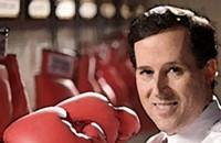 Correction: I botched blog item, but Rick Santorum's still a jerk