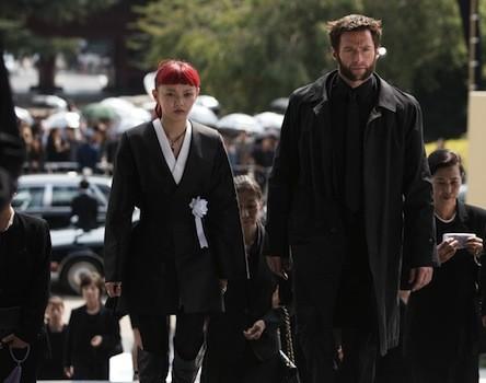 Rila Fukushima and Hugh Jackman in The Wolverine (Photo: Fox)
