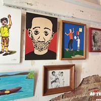 Rippin Art Show at Black Sheep, 4/18/14