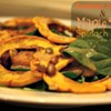 Recipe: Roasted Squash and Maple Tofu Spinach Salad {Vegan}