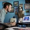 Combat artist Robert Bates ventures into enemy territory
