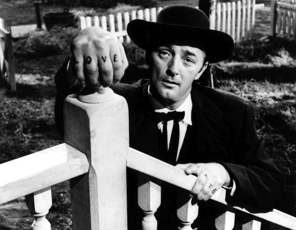 Robert Mitchum in The Night of the Hunter (Photo: Criterion Collection)