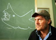Robert Shaw in Jaws