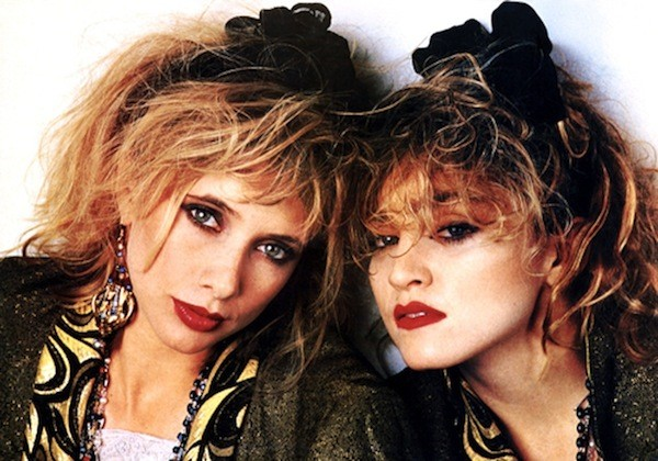 Rosanna Arquette and Madonna in Desperately Seeking Susan (Photo: Kino)
