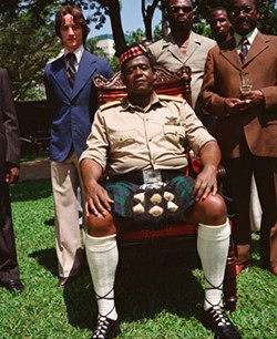 FOX SEARCHLIGHT, FILM FOUR & DNA FILMS - ROYAL TREAT Forest Whitaker (seated) deservedly earned SEFCA's Best Actor award for his performance as Idi Amin in The Last King of Scotland