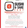Sake to me: tickets on sale for Sushi & Sake Fest