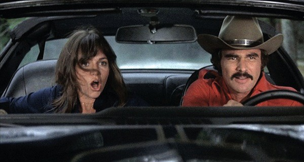 Sally Field and Burt Reynolds in Smokey and the Bandit (Photo: Universal)