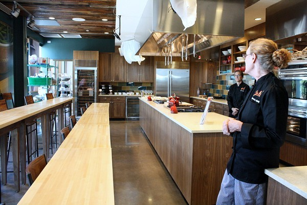 Salud students will work in a kitchen that is to die for