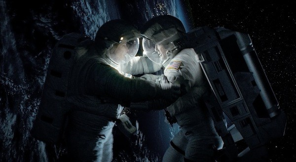 Sandra Bullock and George Clooney in Gravity (Photo: Warner Bros.)