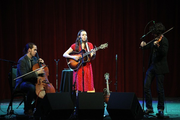 Sarah Jarosz, Alex Hargreaves and Nathaniel Smith