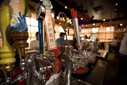 CATALINA KULCZAR-MARIN - SATISFYING SPORTSMEN'S THIRST: With a beer list of 115, The Lodge promises to satisfy the thirst of the beer crowd.
