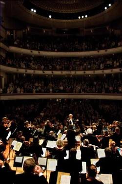 COURTESY CHARLOTTE SYMPHONY - SAVE THE MUSIC: The Charlotte Symphony Orchestra