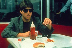 WARNER BROS. - SAYING WHAT THE F...: Tom Cruise in Risky Business.