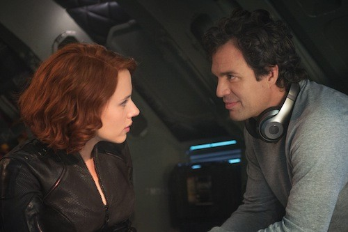 Scarlett Johansson and Mark Ruffalo in Avengers: Age of Ultron (Photo: Disney & Marvel)