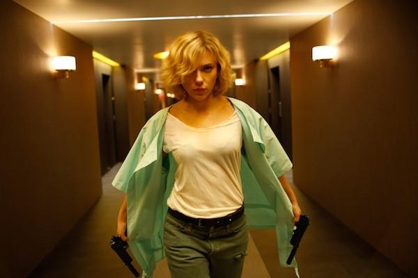 Scarlett Johansson in Lucy (Photo: Universal)