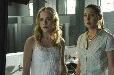 SCHOOL OF THOUGHT: Evan Rachel Wood and Eva Amurri (Susan Sarandon's daughter) star in the provocative drama The Life Before Her Eyes.