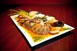 JUSTIN DRISCOLL - Seafood linguini