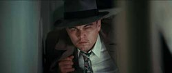 PARAMOUNT - SEARCHING FOR CLUES: Leonardo DiCaprio in Shutter Island.