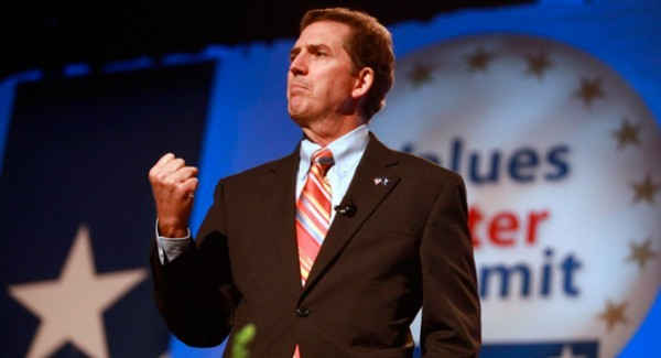 """Sen. Jim DeMint during a brown  hair week: """"Cull can take that grant and shove it. . ."""""""
