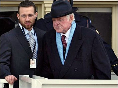 Sen. Ted Kennedy at Pres. Obama's inauguration