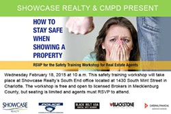 SHOWCASE REALTY - Showcase Realty Safety Training Workshop for Real Estate Agents