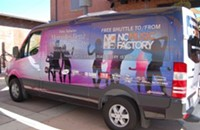 Want a ride to the N.C. Music Factory? There's a free shuttle for that.