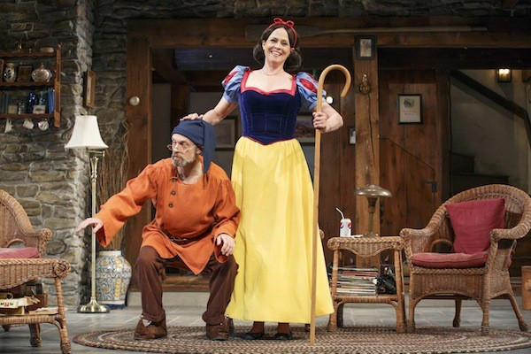 Sigourney Weaver in the Best Play Tony winner Vanya and Sonia and Masha and Spike. (Photo: Carol Rosegg)