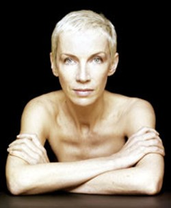 Singer Annie Lennox, of both Eurhythmics and solo - fame, performs at Verizon Wireless Amphitheatre - Friday with Sting.