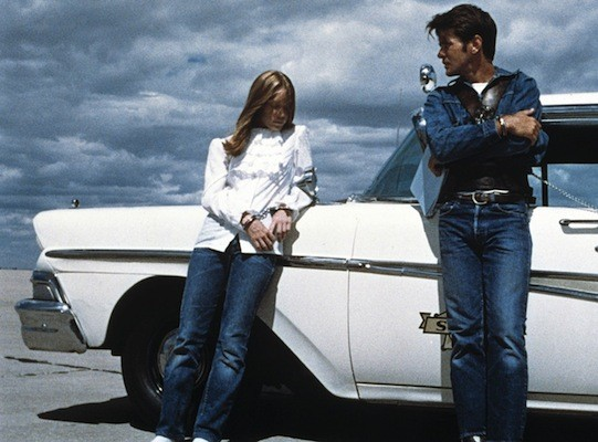 Sissy Spacek and Martin Sheen in Badlands (Photo: Criterion)