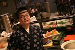 CATALINA KULCZAR - SKY'S THE LIMIT: Sushi chef Itamae Sky