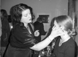 JENNIFER LARSON - SLAPPING ON MAKEUP at The Light Factory's 15 - Minutes event