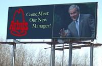 Bush billboard contest!