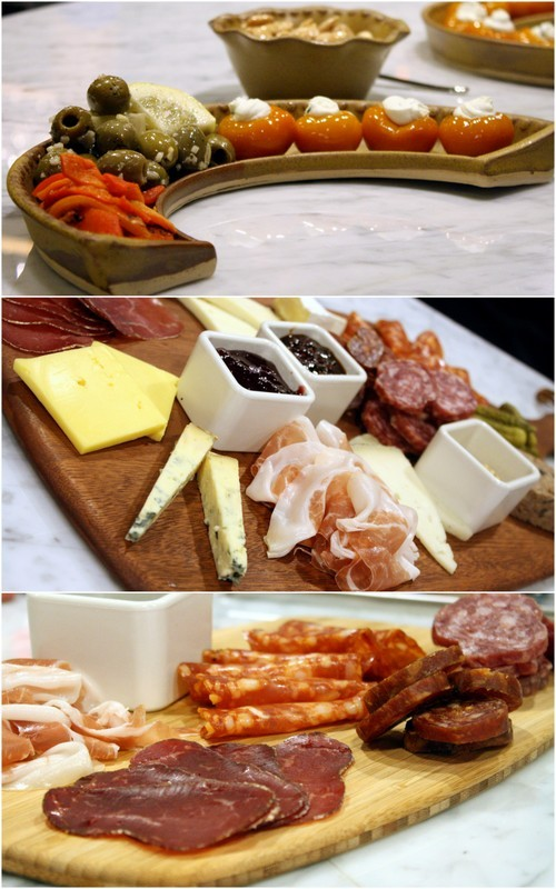 Small bites, charcuterie, and cheese plates