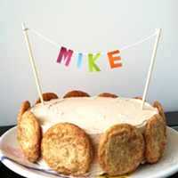 Snickerdoodle Birthday Cake