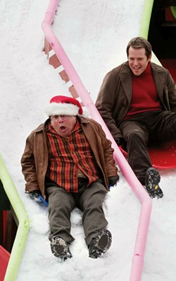 DOANE GREGORY / FOX, REGENCY & MONARCHY - SNOW JOB It's tough sledding for moviegoers forced to endure the antics of Danny DeVito and Matthew Broderick in Deck the Halls