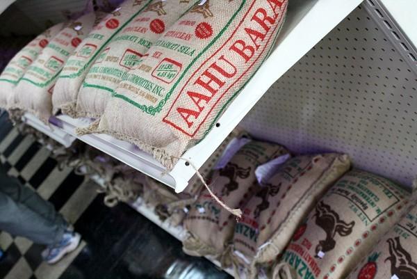 Somali market goods