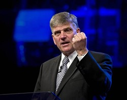ZUMA PRESS/NEWSCOM - SON OF A PREACHER MAN: Rev. Franklin Graham