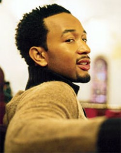 Soul music heartthrob John Legend performs at - Amos' Southend on Wednesday.