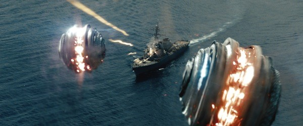 SOUND AND FURY, SIGNIFYING NOTHING: Battleship (Photo by ILM / Universal Pictures)