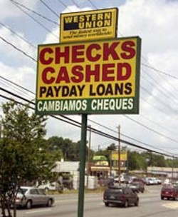 RADOK - South Boulevard has a full share of payday loan - businesses