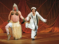 DAVID HOU / STRATFORD FESTIVAL OF CANADA - SOUTH PACIFIC Bruce Dow and Cynthia Dale in Stratford Festival of Canada production