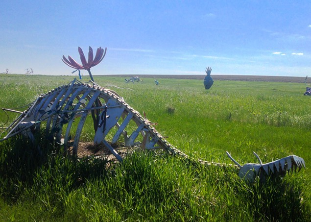 Speaking of skeletons, South Dakota may not have dinosaurs but they do have dragons!