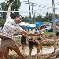 SPORTS: 5th Annual Murphy's Dirty 30 Mud Volleyball Tournament
