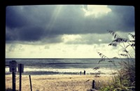 Spotted: Summer's last breath in Kure Beach, North Carolina